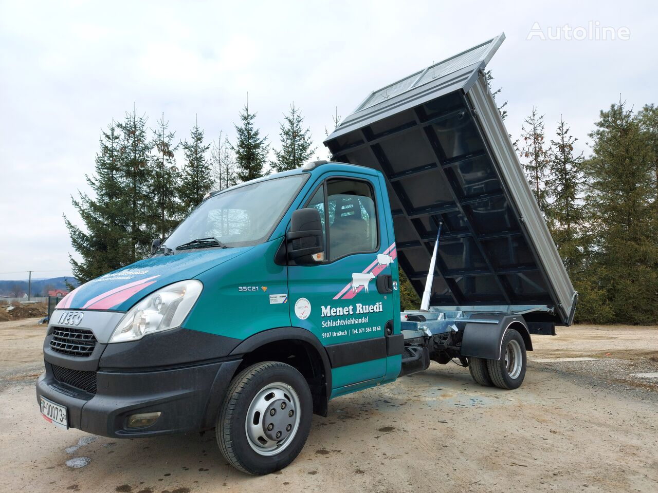 IVECO Daily 35c21 dump truck < 3.5t