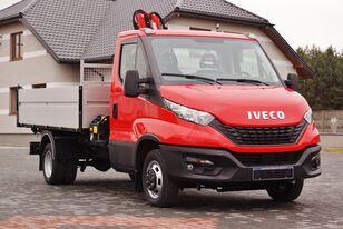 new IVECO DAILY 50C16 KIPPER 3S+ FASSI M30A.12 5,6 ROTATOR NEW !! 2020 dump truck < 3.5t