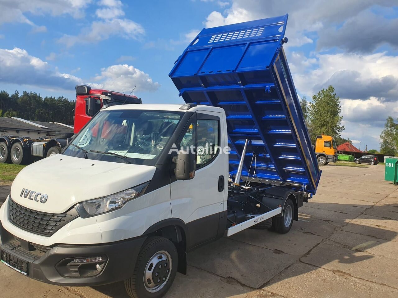 new IVECO Daily 50C16 dump truck < 3.5t