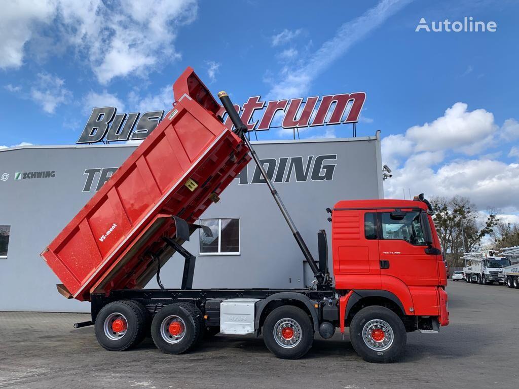 MAN TGS 41.480 8x4 Kipper VS-Mont 18 cbm / Euro 6 dump truck < 3.5t