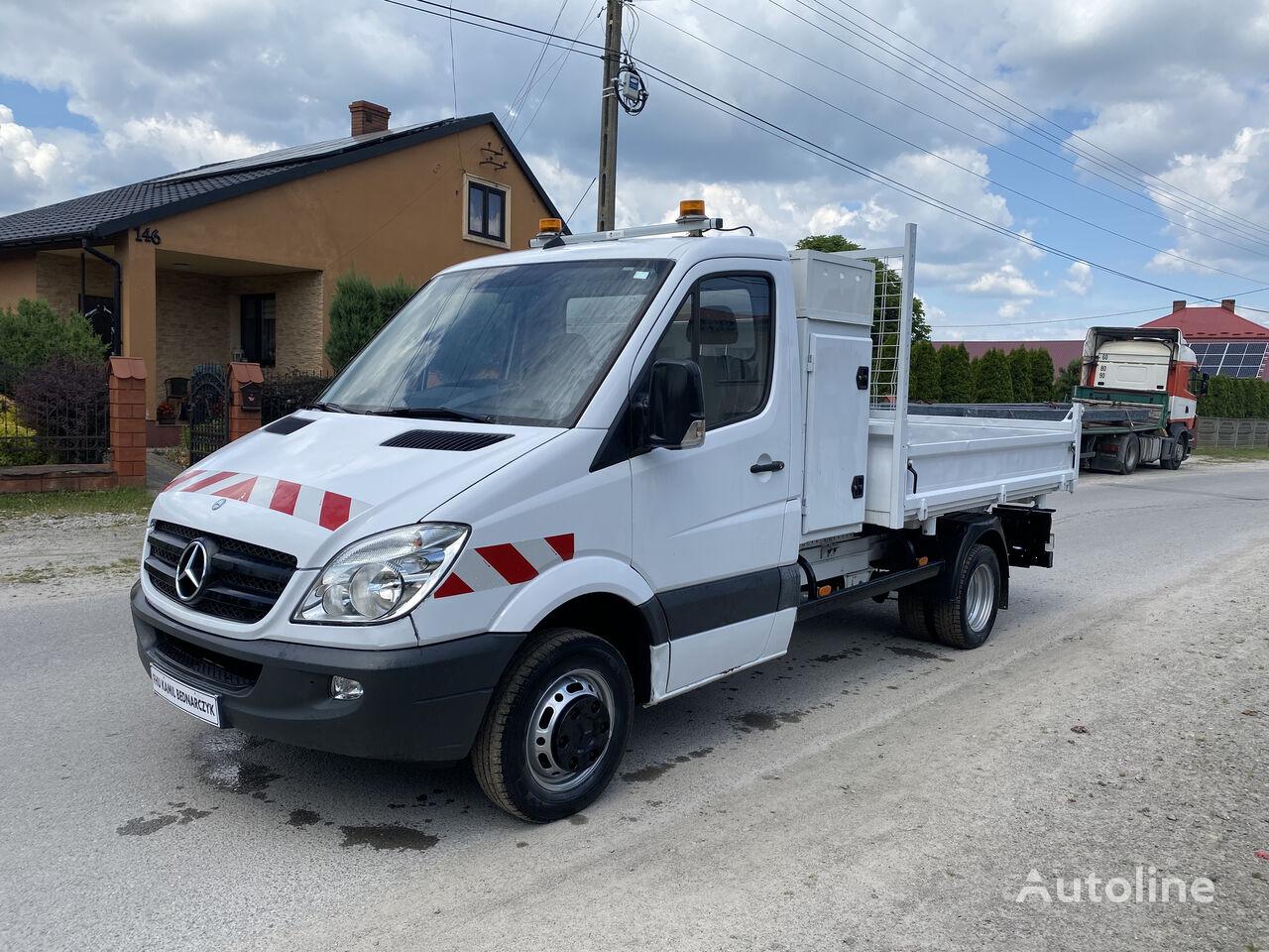 MERCEDES-BENZ Sprinter 513 !! Klima !! 154 tys km 3 x wywrotka  dump truck < 3.5t