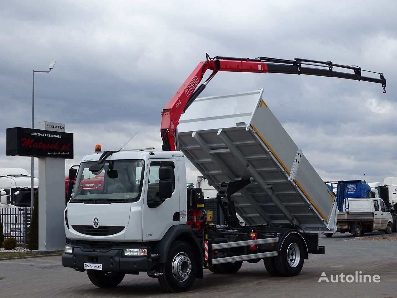RENAULT MIDLUM 220  dump truck < 3.5t