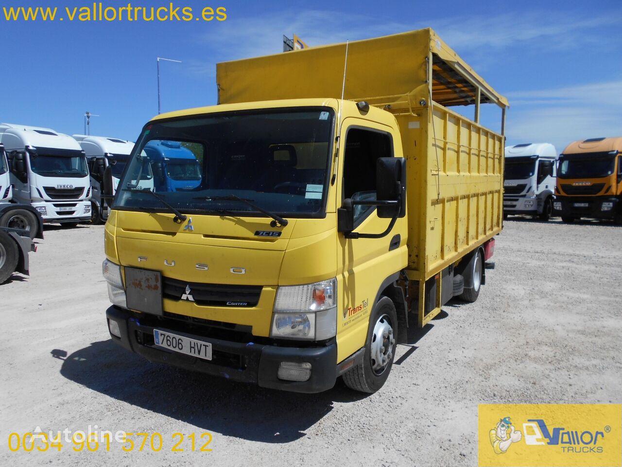 ISUZU CANTER flatbed truck < 3.5t