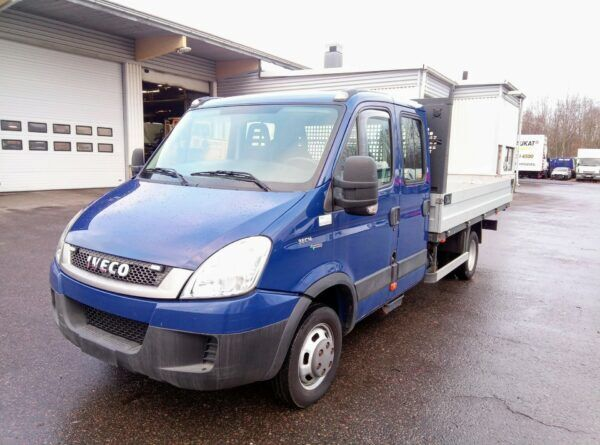 IVECO DAILY 35 C14G flatbed truck < 3.5t