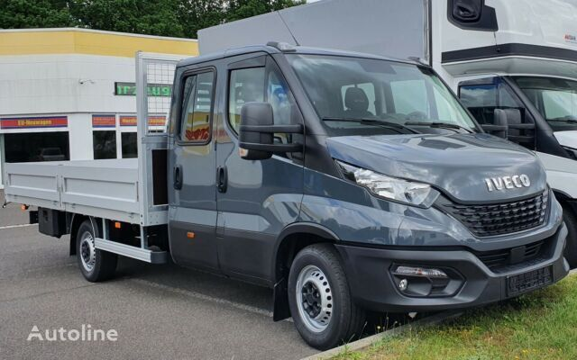 new IVECO DAILY 35S16D Doka Pritsche Klima AHK flatbed truck < 3.5t