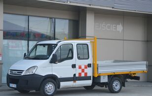IVECO Daily 35s-12 Doka / Dubel Kabina Skrzynia 3.20 M Stan * BDB * flatbed truck < 3.5t