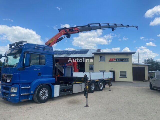 MAN TGS 28.400 6x2-2 Palfinegr PK27002SH-G flatbed truck < 3.5t