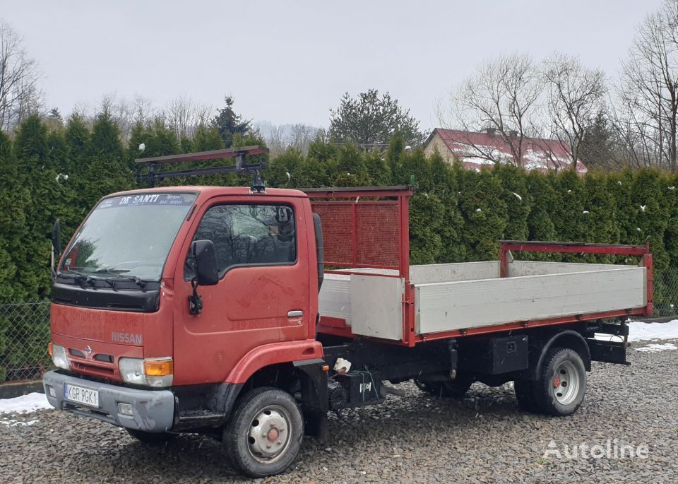 NISSAN Cabstar 110 D Wywrotka/Kiper 3-Str + Miejsce na HDS flatbed truck < 3.5t