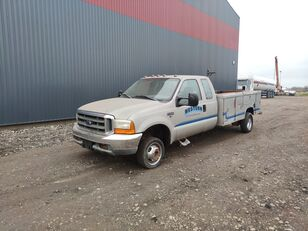 FORD F350, 4x4 flatbed truck < 3.5t
