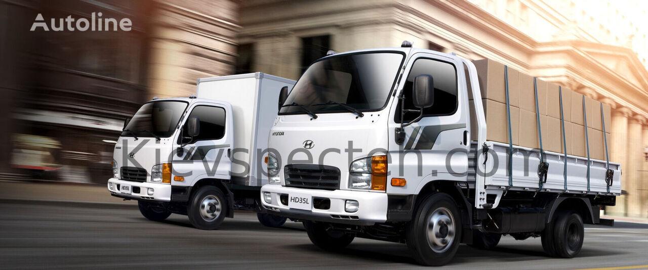 HYUNDAI HD35City flatbed truck < 3.5t