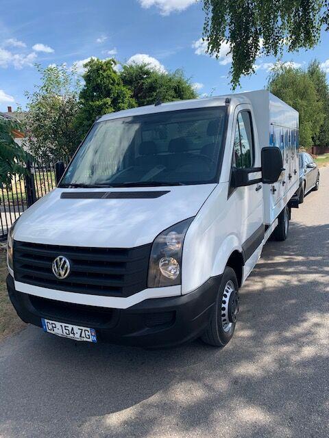 VOLKSWAGEN CRAFTER ice cream truck < 3.5t