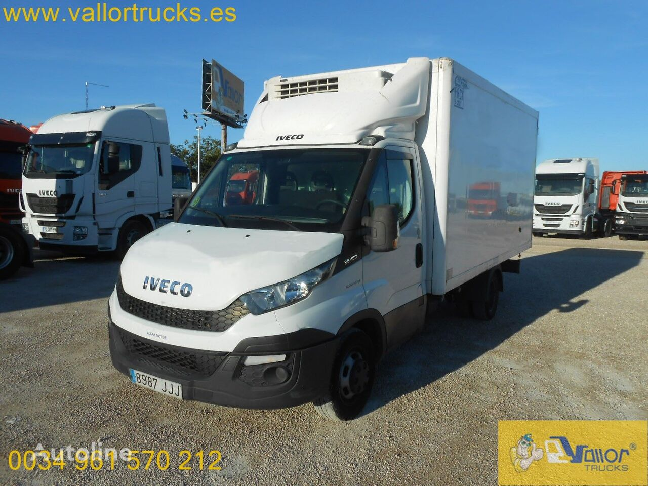 IVECO Daily 35 refrigerated truck < 3.5t