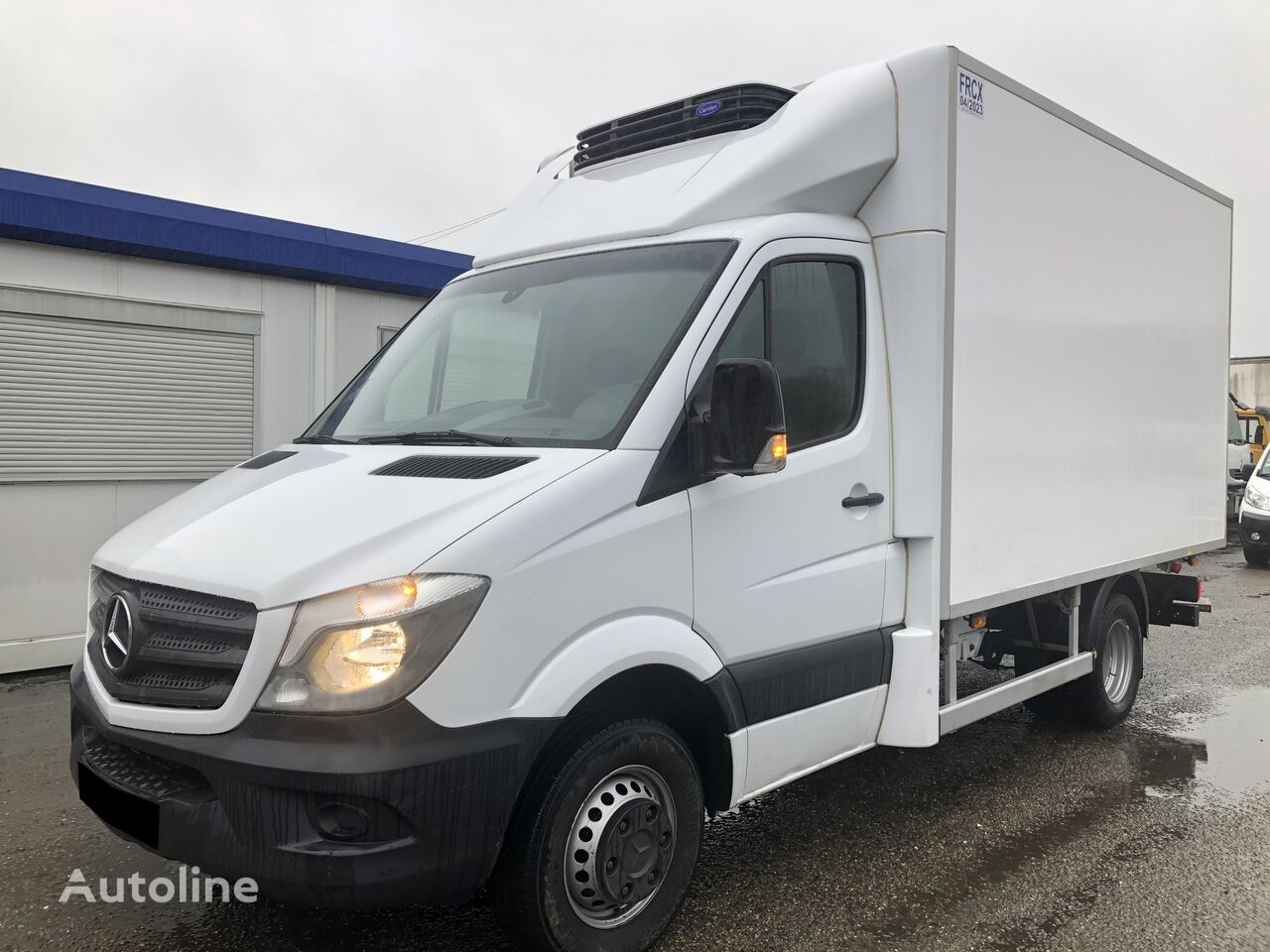 MERCEDES-BENZ SPRINTER 516 FRIGORIFIQUE refrigerated truck < 3.5t