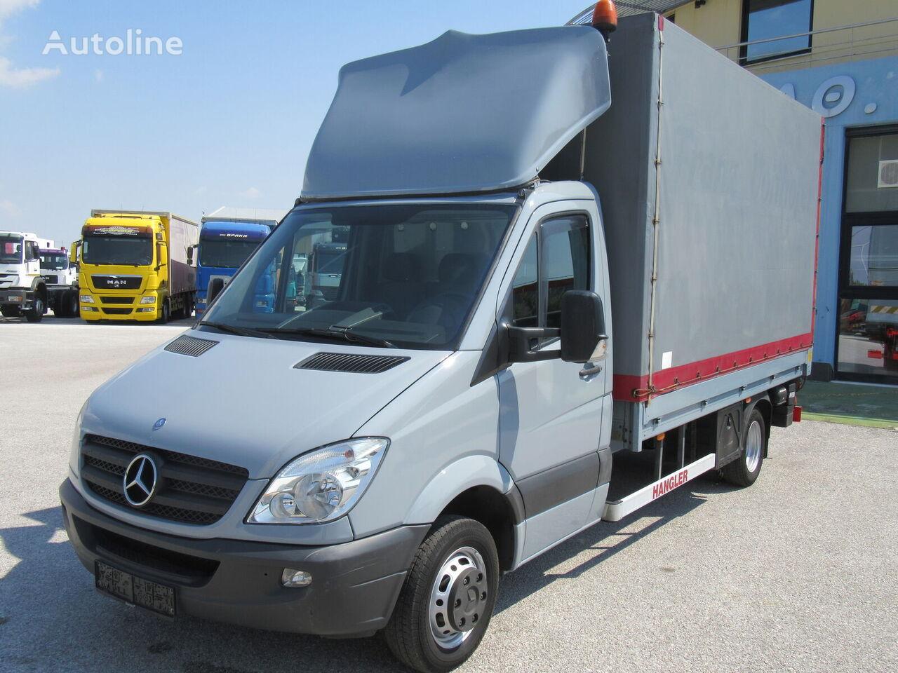 MERCEDES-BENZ 516 CDI  tilt truck < 3.5t