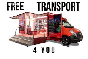 new BANNERT EVENT, SZKOLENIA TARGI !!!FREE TRANSPORT 4 YOU!!! vending truck < 3.5t