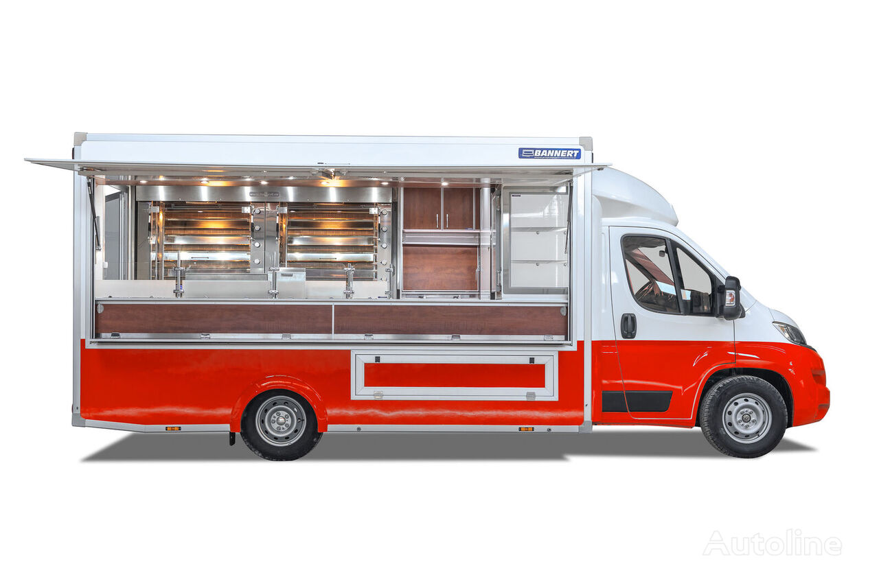 new FIAT Grill Kurczak Food Truck Handlowy vending truck < 3.5t