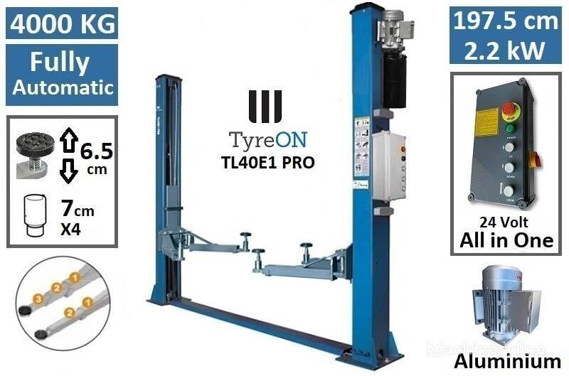 new TyreOn TyreON TL40E1 PRO   4000 KG   2 post lift 2 post car lift