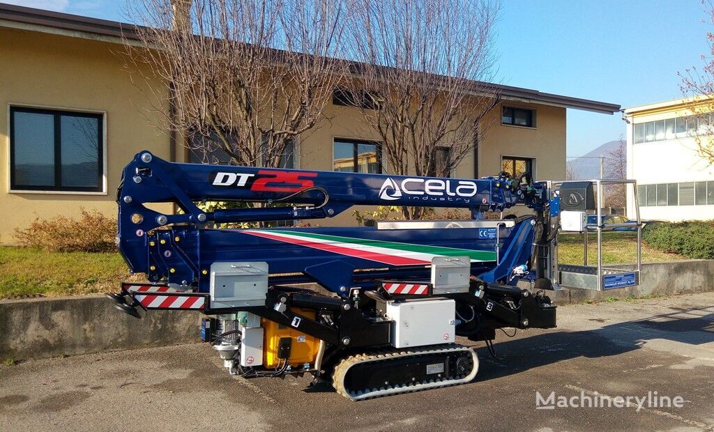 new CELA DT25 SPYDER articulated boom lift