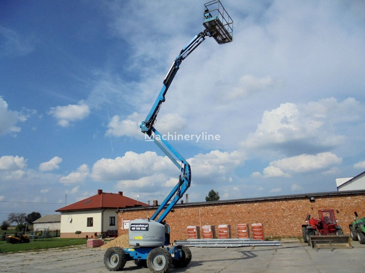 GENIE Z-45/25 IC articulated boom lift