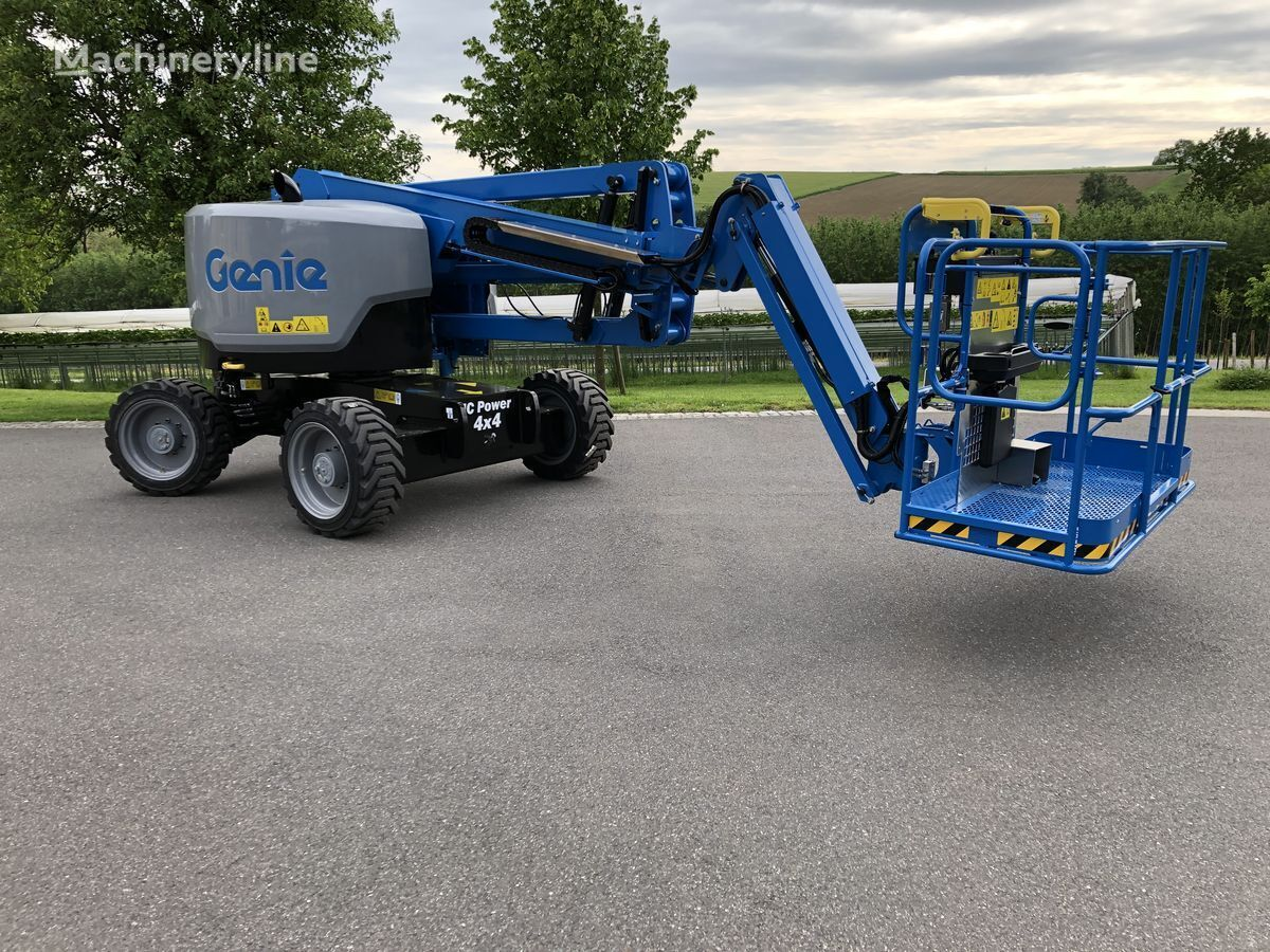 new GENIE Z45 XC articulated boom lift