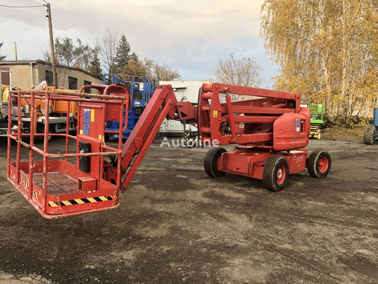 GENIE Z45/25JDC articulated boom lift