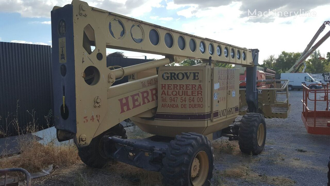 GROVE AMZ 66 XT articulated boom lift