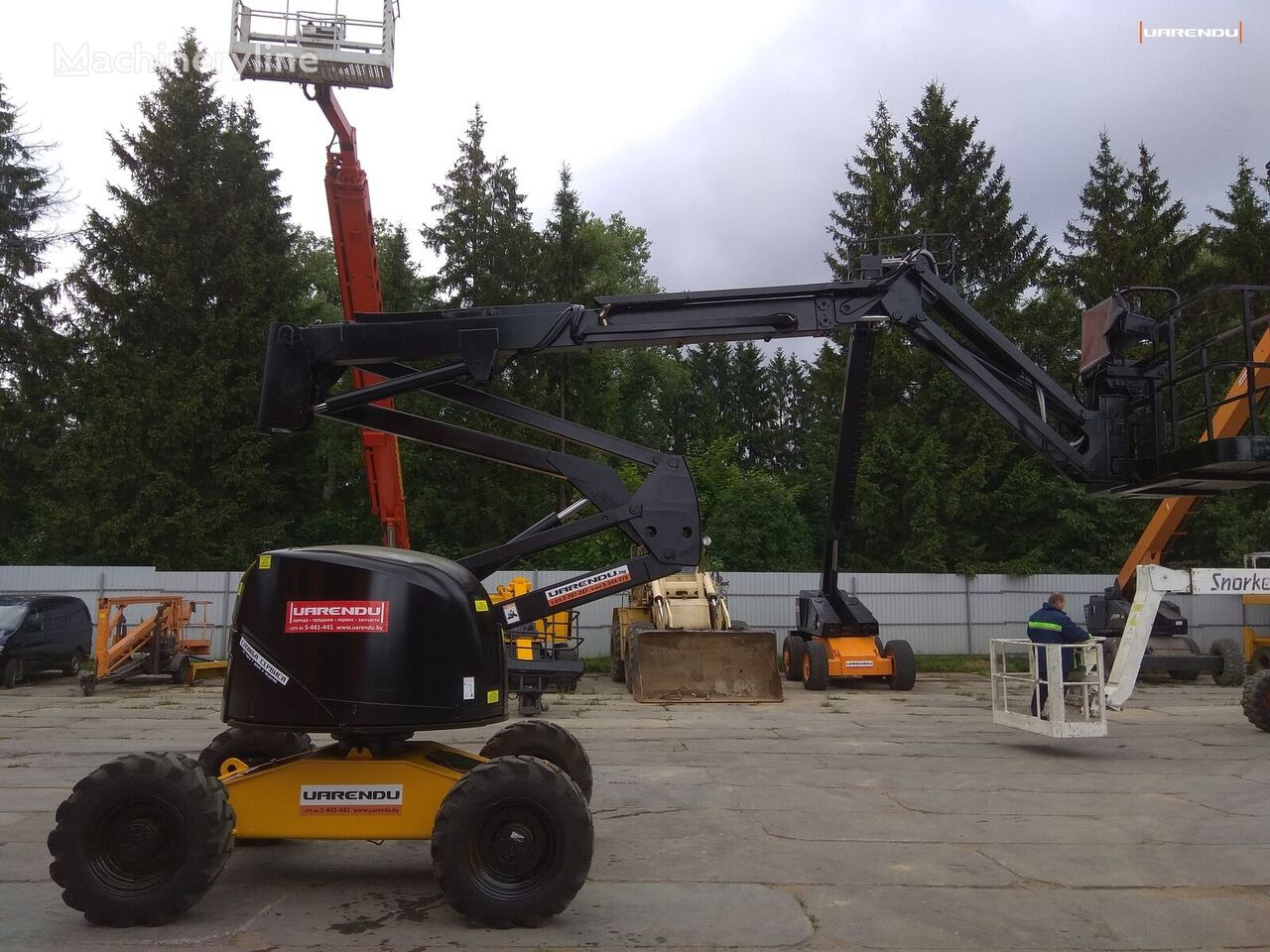 HAULOTTE HA16PX articulated boom lift