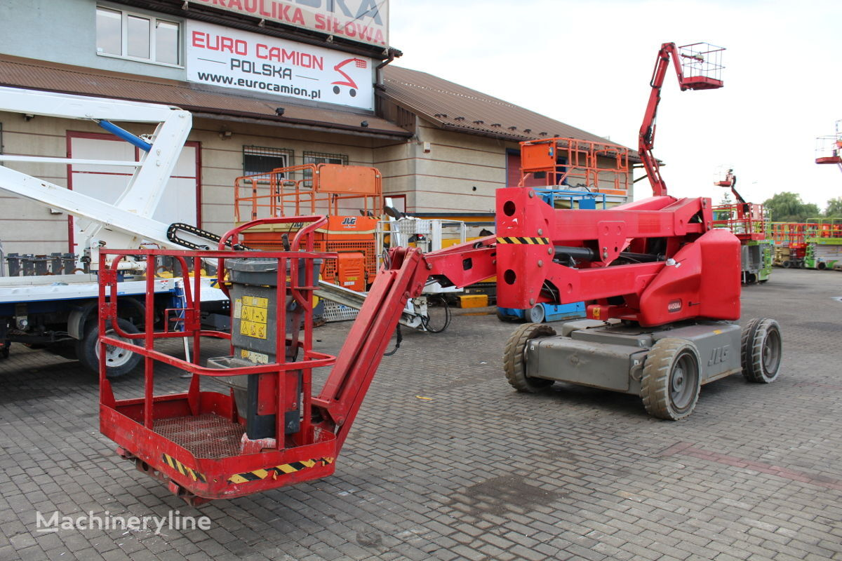JLG M450AJ - Bi-energy - 16 m (Genie Z 45/25 J DC, Haulotte HA15IP,  articulated boom lift
