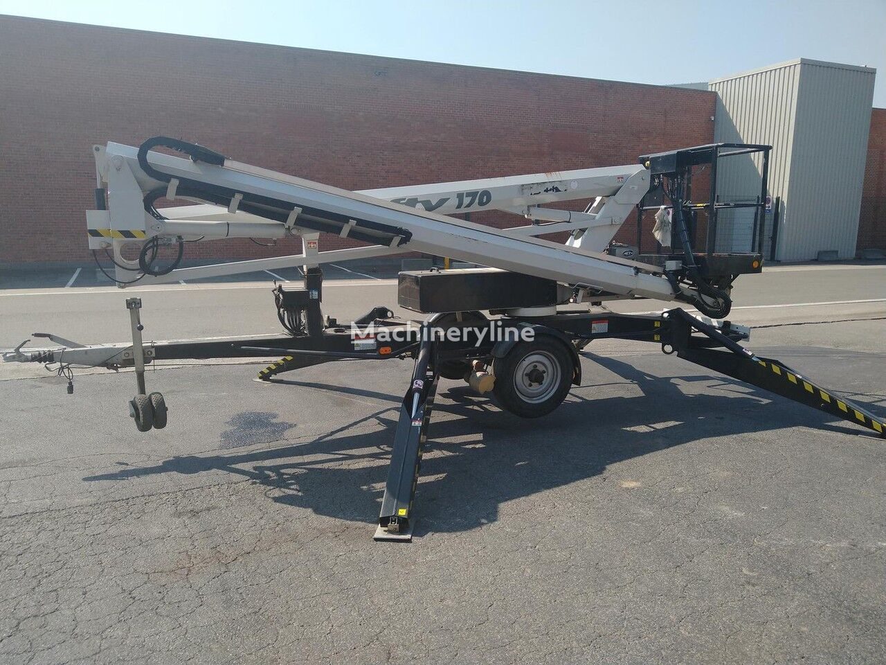 NIFTYLIFT 170 HDET articulated boom lift