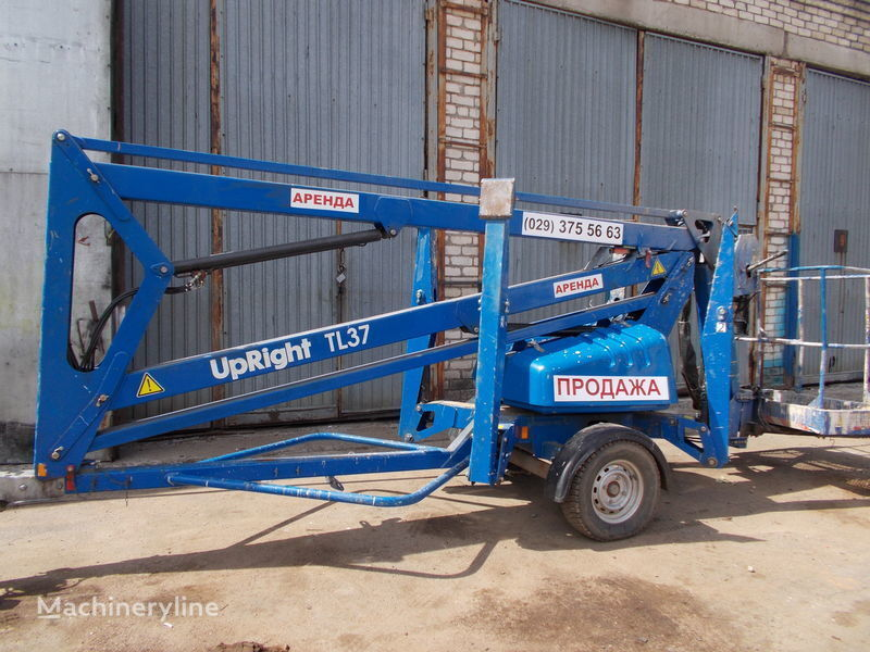 UPRIGHT  TL-37 articulated boom lift