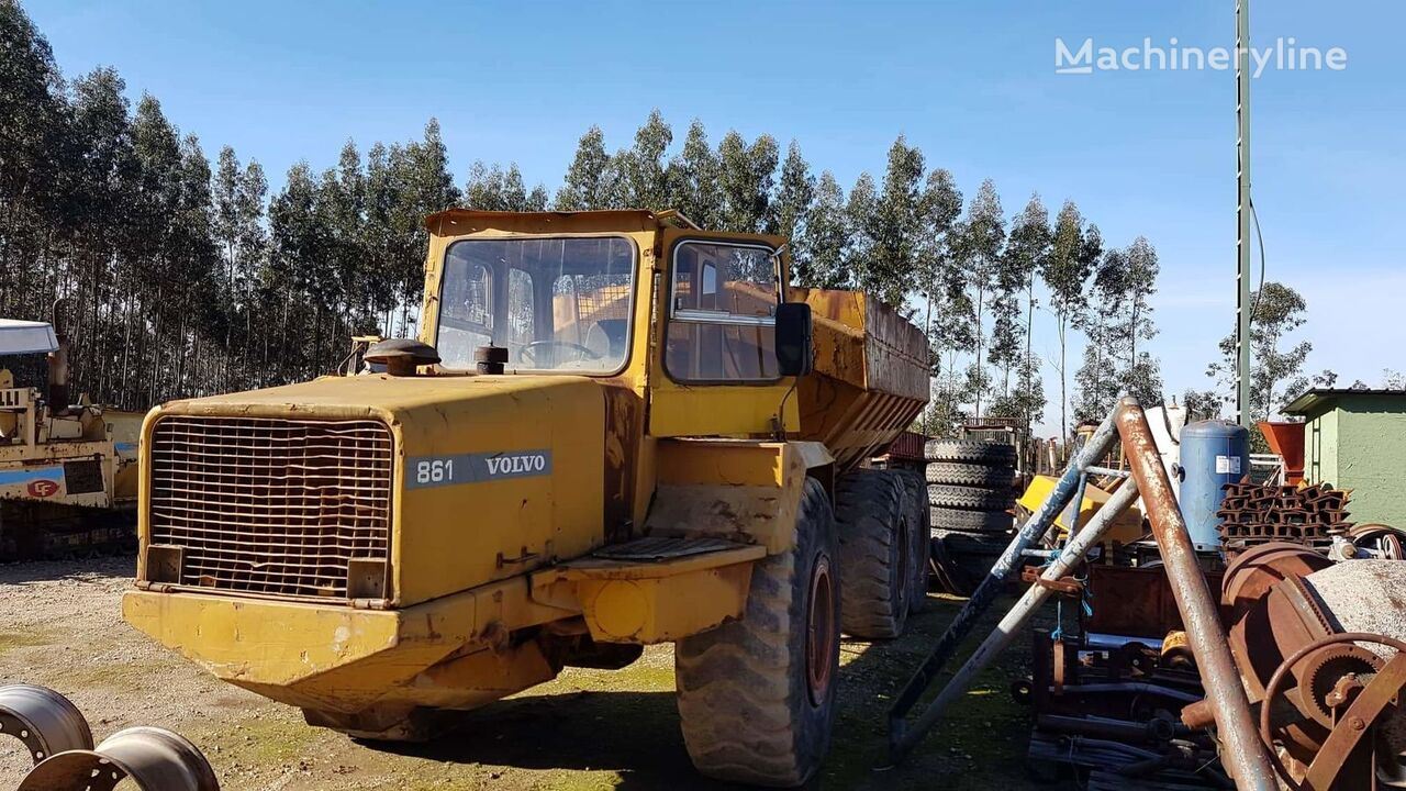 VOLVO articulated dump truck
