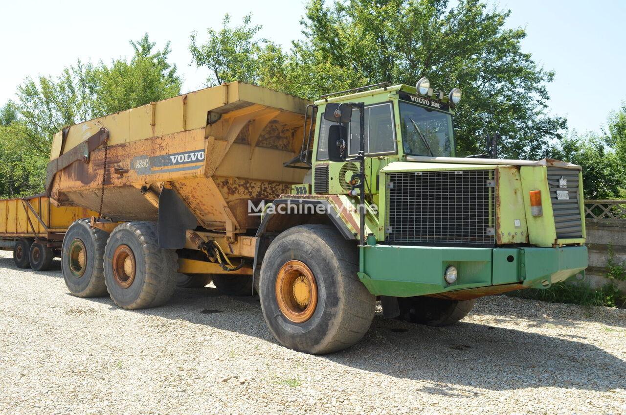 VOLVO A35C articulated dump truck