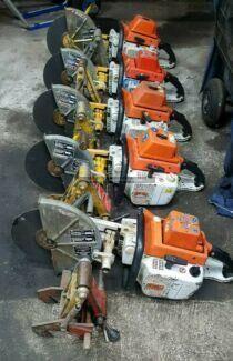 Stumec Motorflex asphalt cutter