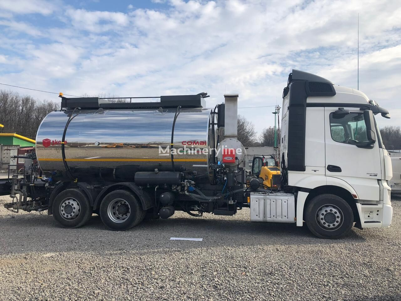 new 3Kare Kombi Asfalt Makinası asphalt distributor