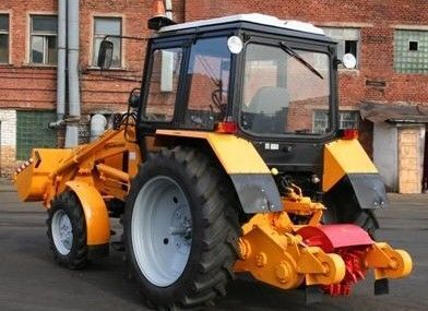 new AMKODOR 8047  asphalt milling machine