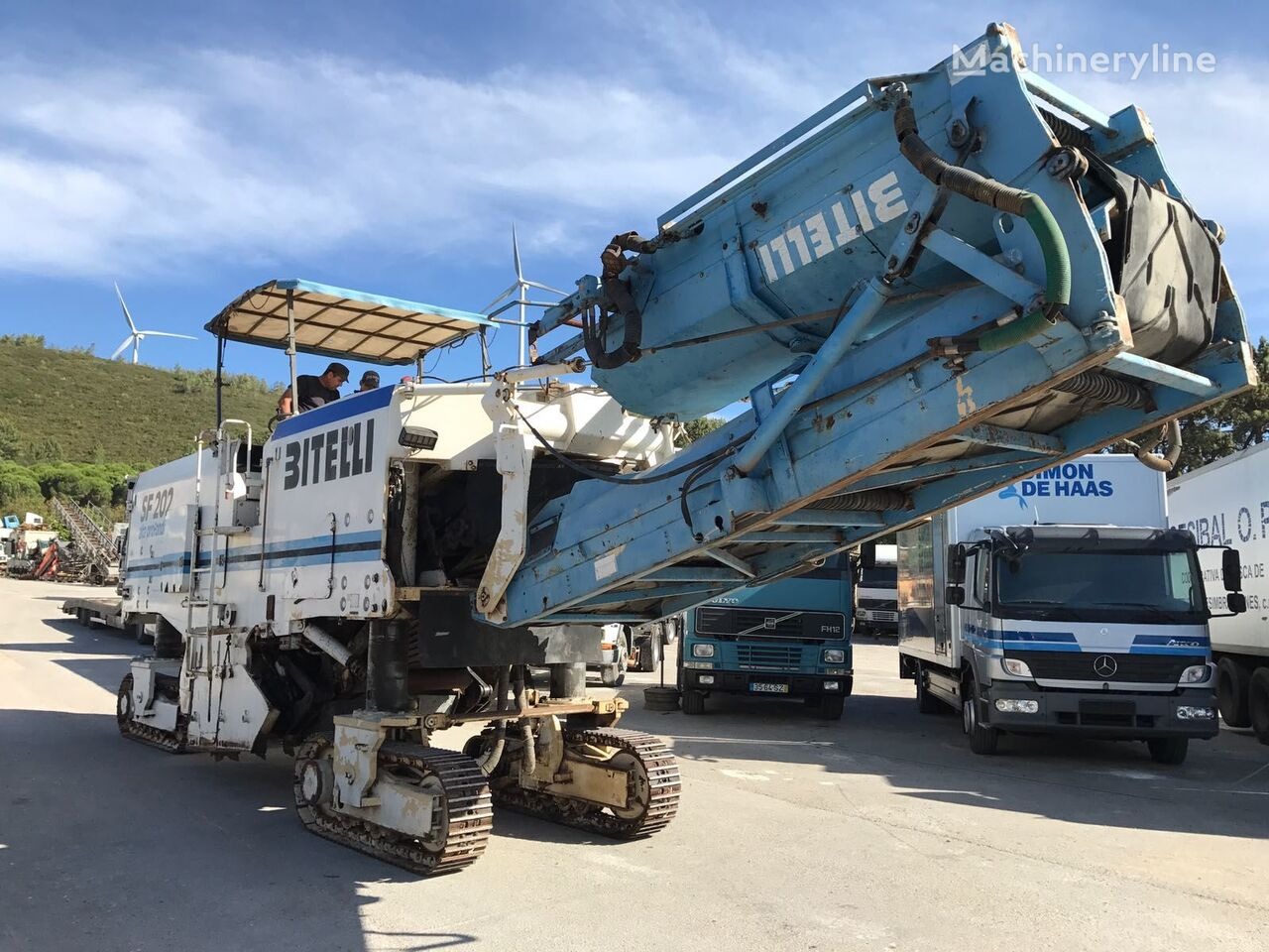 BITELLI SF 202 R - COLD PLANNER / ROAD CUTTER / ASPHALT MILLING MACHINE asphalt milling machine