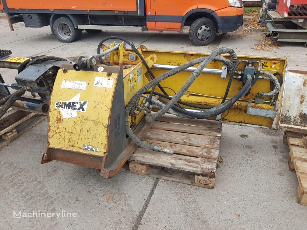 SIMEX Bobcat , CAT, JCB  asphalt milling machine
