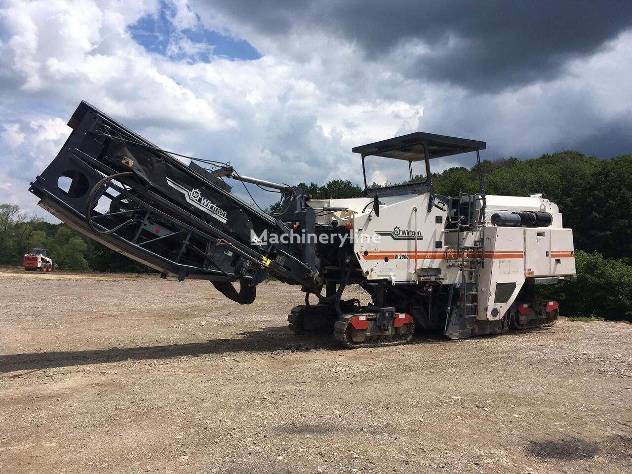 WIRTGEN W2000 asphalt milling machine