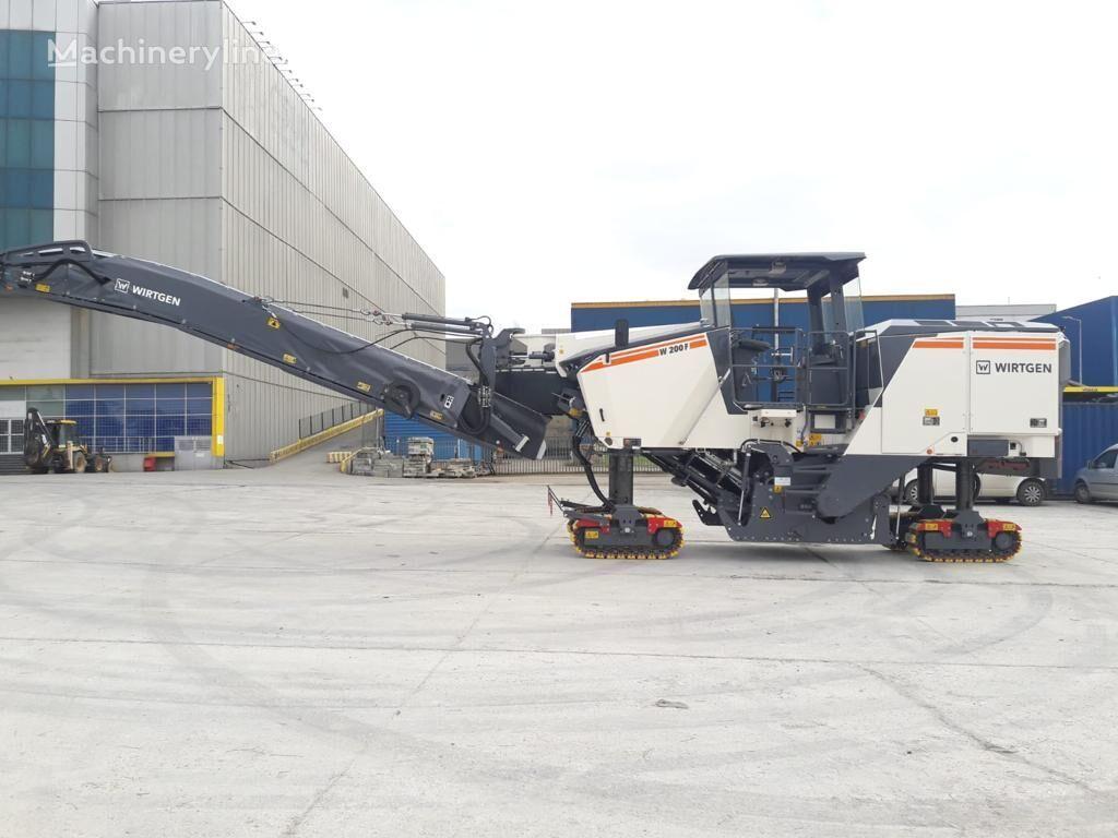 new WIRTGEN W200F asphalt milling machine