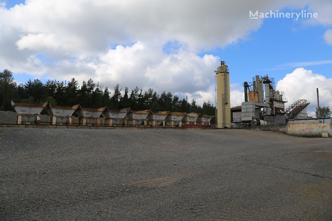 AMMANN 160 to./h. asphalt plant