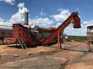 CIBER UACF14P asphalt plant
