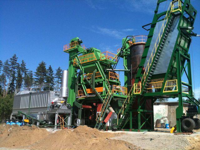new DMI DMAP MB 1300 asphalt plant