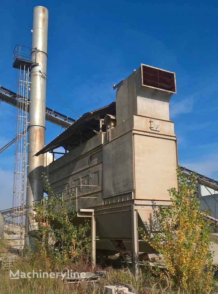 Dedusting/Entstaubung asphalt plant