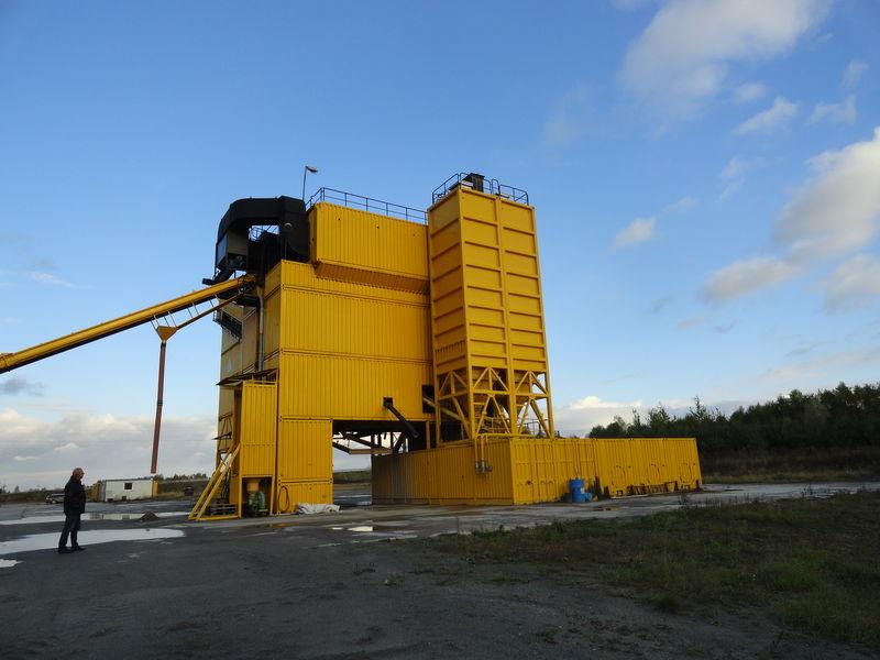LINTEC CSD 3000 asphalt plant