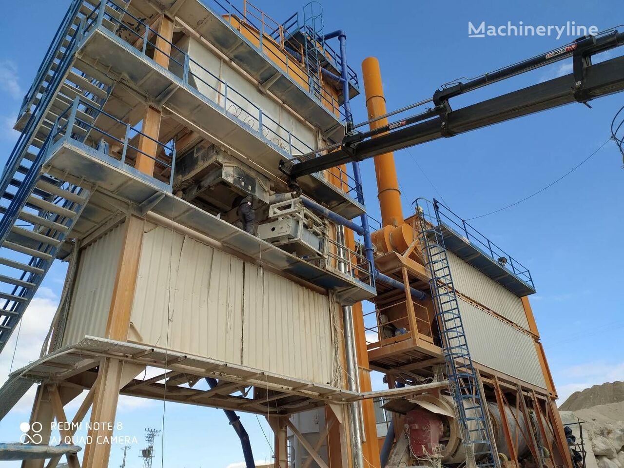 new POLYGONMACH PBA-160 asphalt plant