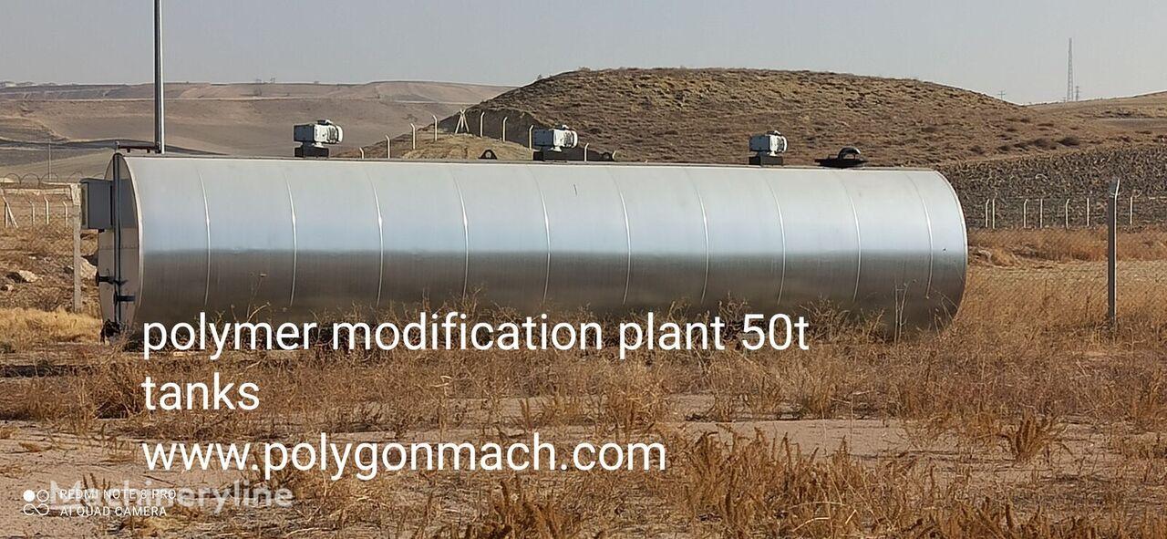 new POLYGONMACH PBT-50 asphalt plant