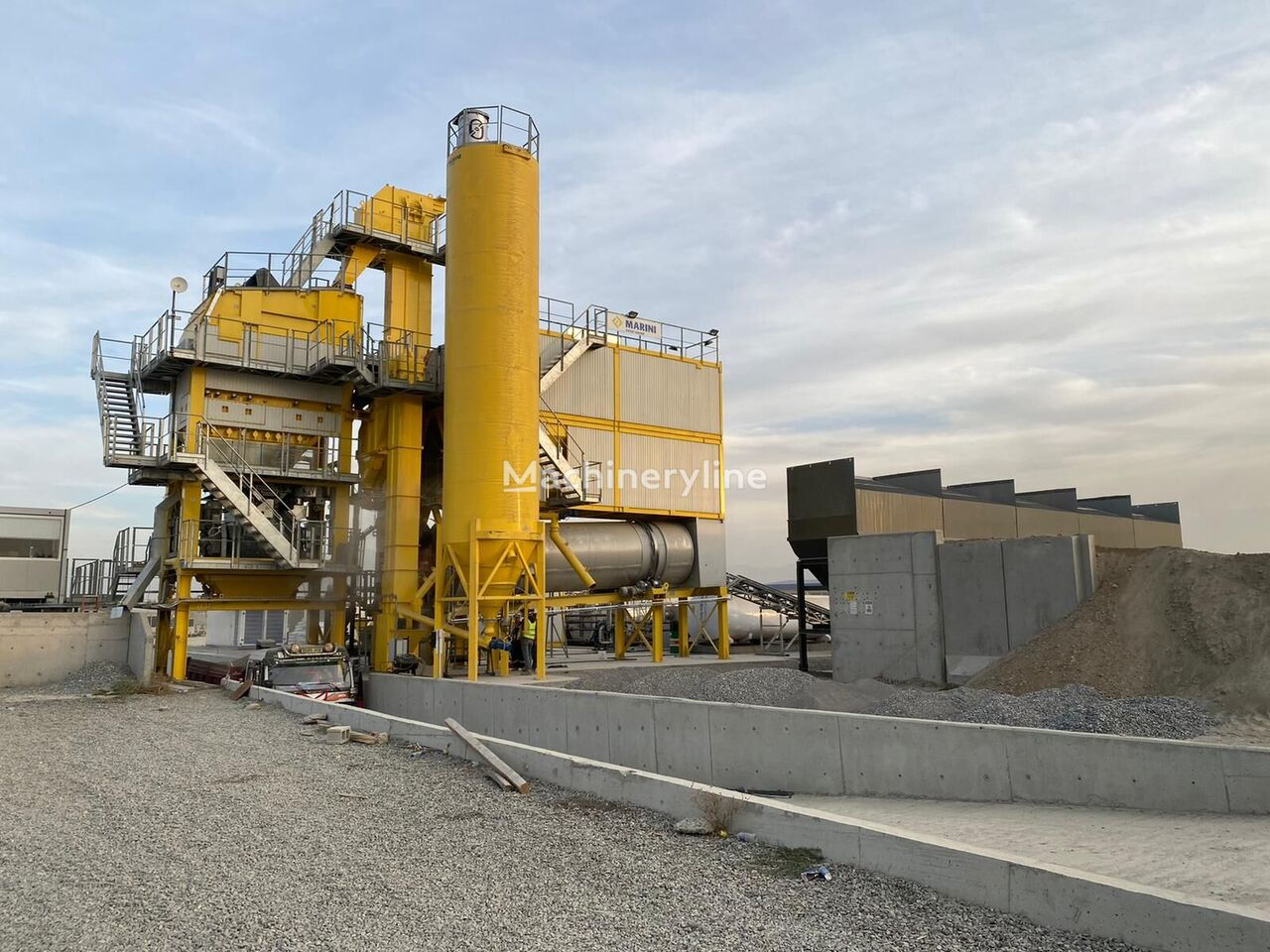 new TEKFALT MARINI TOP TOWER 3000 asphalt plant