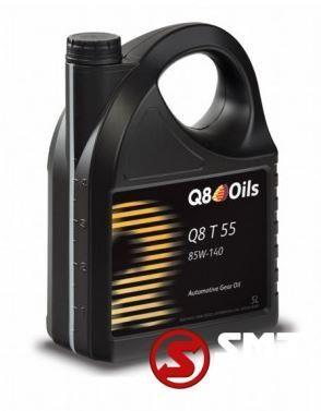 new Diversen Aandrijfolie Q8 T55 SAE 85W140 GL5 5L automotive tool