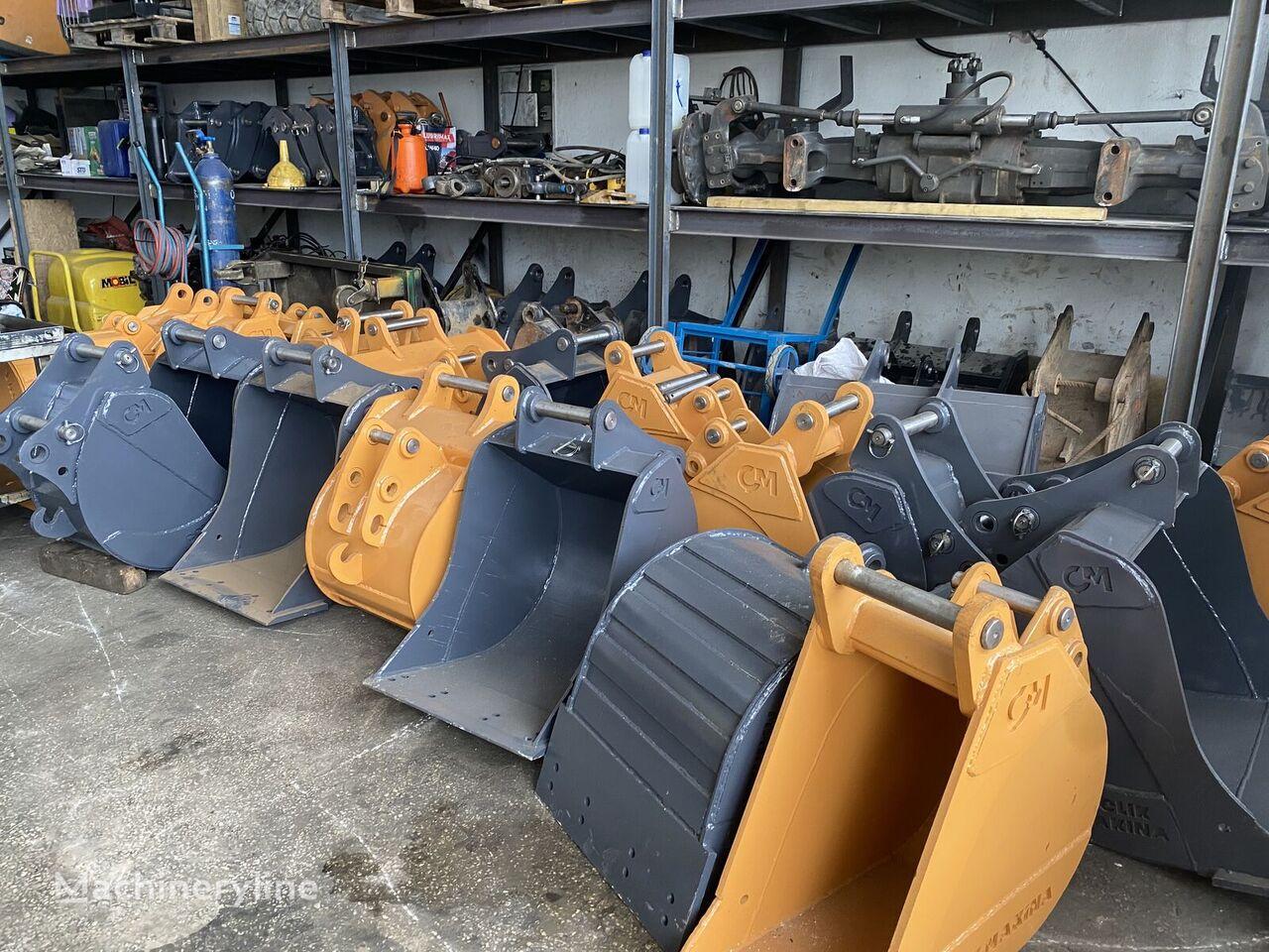 new CASE backhoe loader