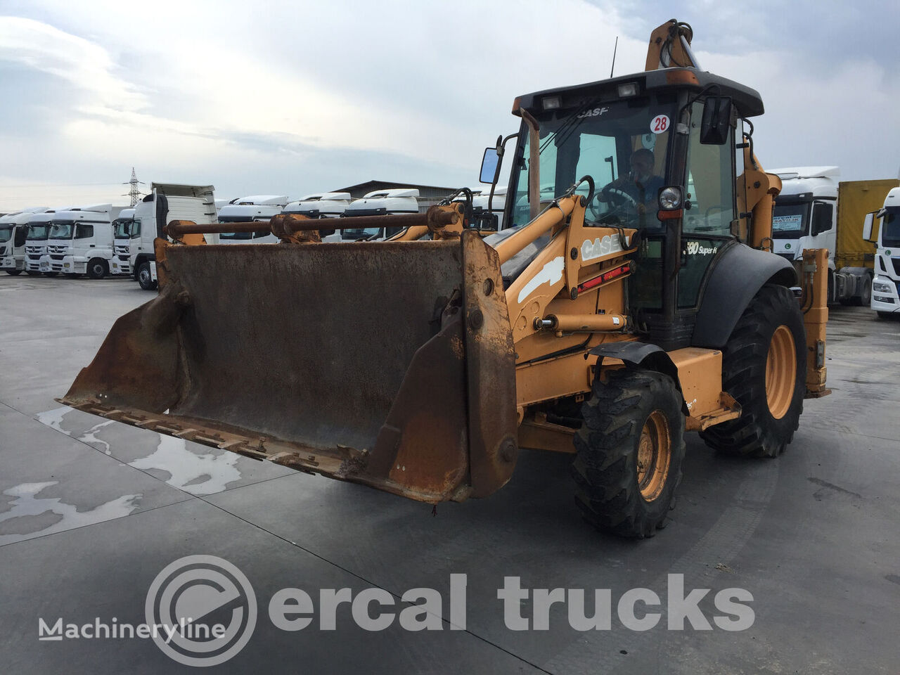 CASE  2007 580 SUPER -R - 4PT 6.000 HRS BACKHOE LOADER backhoe loader